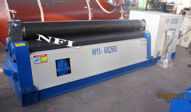 W11 series plate rolling machine