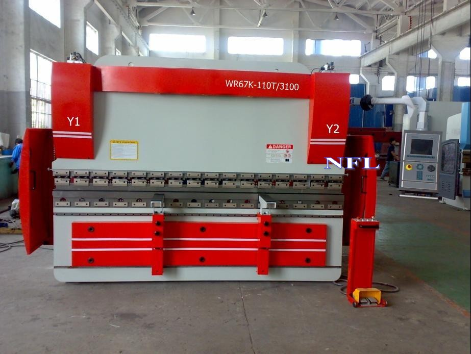PPB series Electrohydraulic CNC synchro Press Brake
