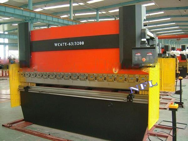 WC67Y hydraulic bending machine for metal sheet